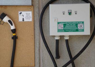 Elektrotankstelle in Gailenkirchen – Schwäbisch Hall